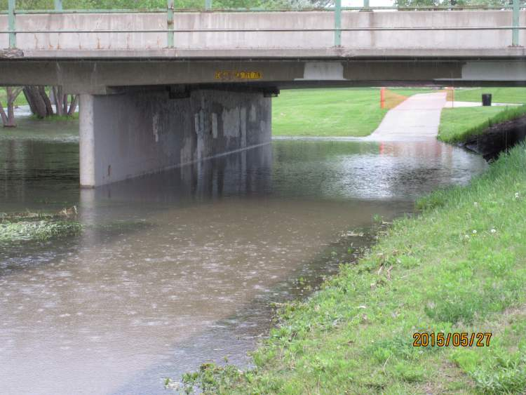 Spring, summer rains can result in localized flooding