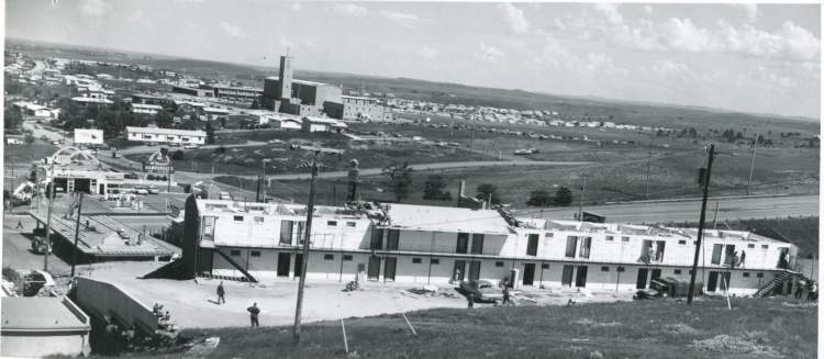 An EF2 tornado hit Rapid City on Father's Day, June 18, 1967, damaging the Town n' Country Motel and also causing damage in the Robbinsdale area.  Much has changed in the area in the past 50 years.