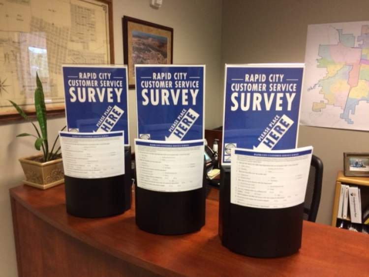 The City is again surveying the public about their experiences with City departments and personnel.