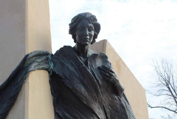 The Legacy Sculpture in Memorial Park. March is Women's History Month and a number of Rapid City women sought office, were elected and served on local boards, paving the way for today's local leaders.