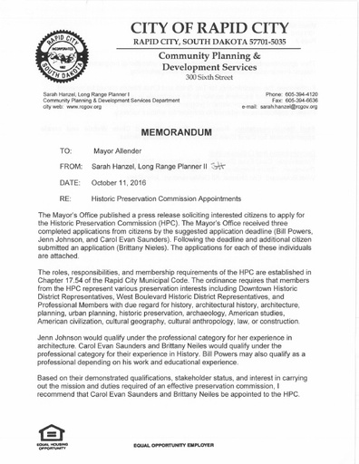 Documents | Rapid City South Dakota