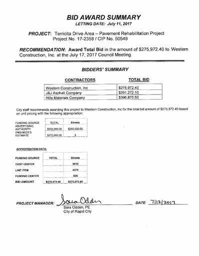 07 July City Council | Rapid City South Dakota