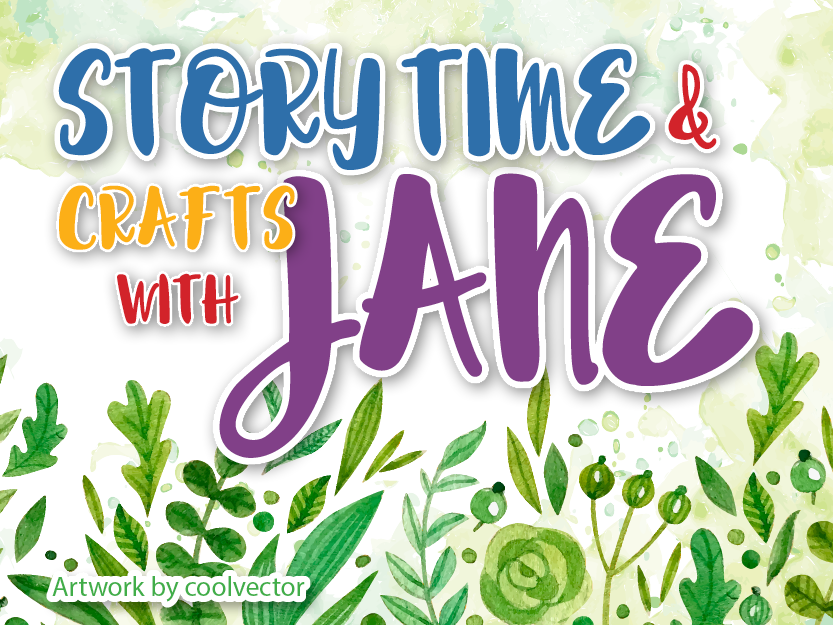 Library Teaser Jane Story Time July 2019