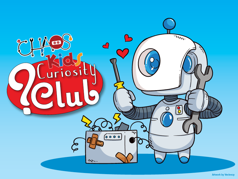 Library teaser CHAOS Curiosity Club Feb 2019