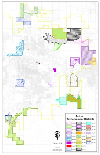 Active Tax Increment District Map