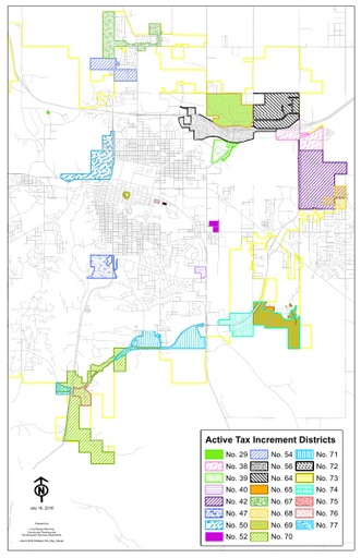 Active Tax Increment District Maps