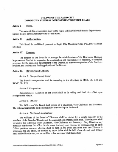 2015 11 03 Amended Bylaws