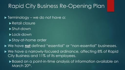 Business Opening Plan Presentation
