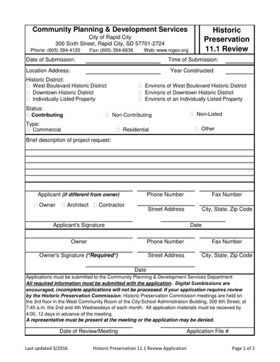 Revised 11 1 Application