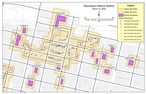 DowntownHistoricDistrictMap