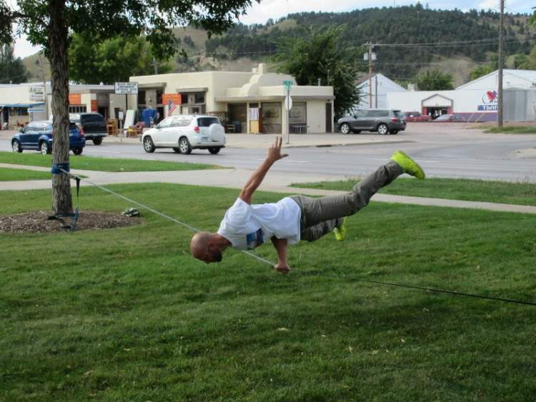 Nehemiah Larimer Slackline Park To Be Dedicated September 21
