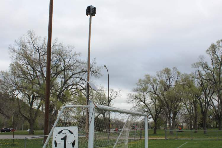 This emergency siren located at the Omaha Street soccer fields is one of several throughout the city and county that are used to warn the public of hazard risks.