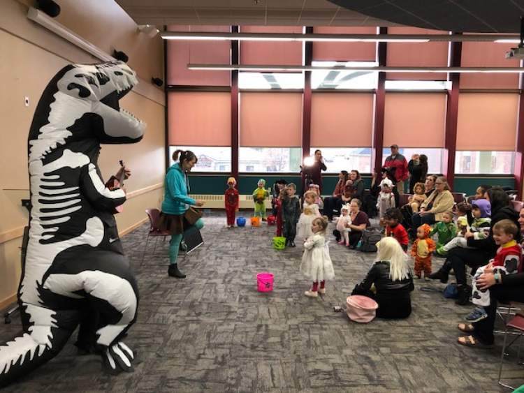 The popular Not-Too-Spooky Story Time & Spooktacular Trick-or-Treat Parade is October 31 at the Rapid City Downtown Library.