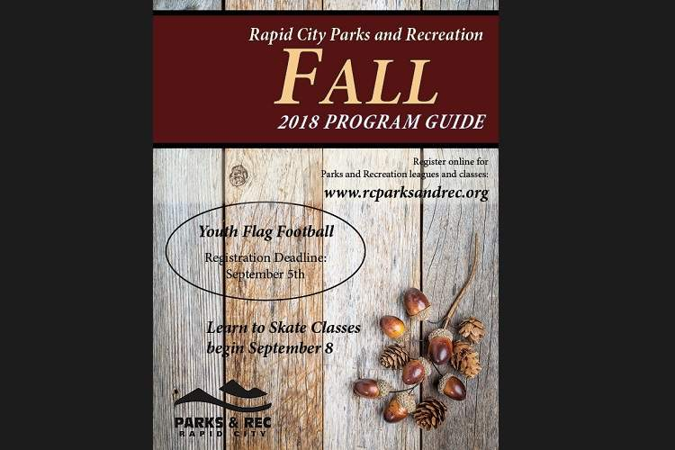 City Parks & Rec Publishes 2018 Fall Program Guide