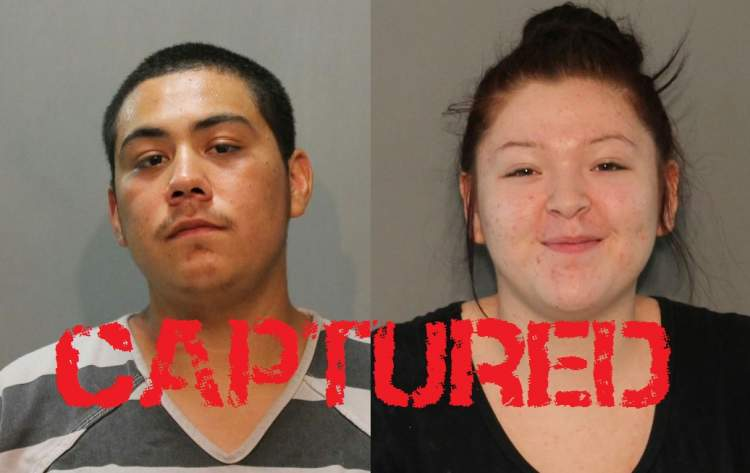 Homicide suspects captured in the Pine Ridge Indian Reservation