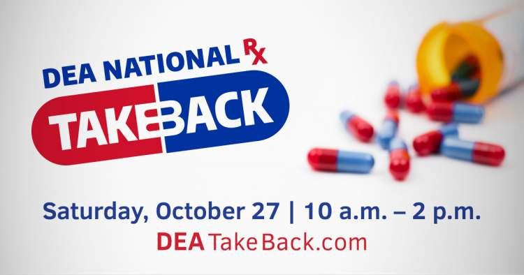 National Prescription Drug Take-Back Day set for October 27th