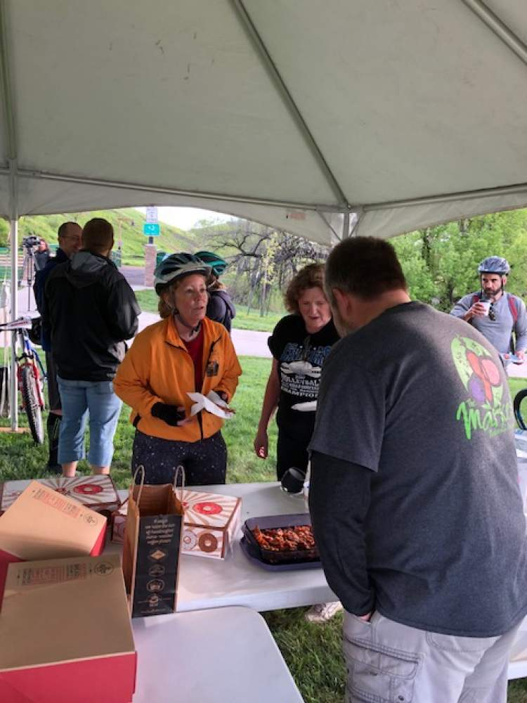 City Parks/Rec Department Hosts 'Bike For Bacon' Event