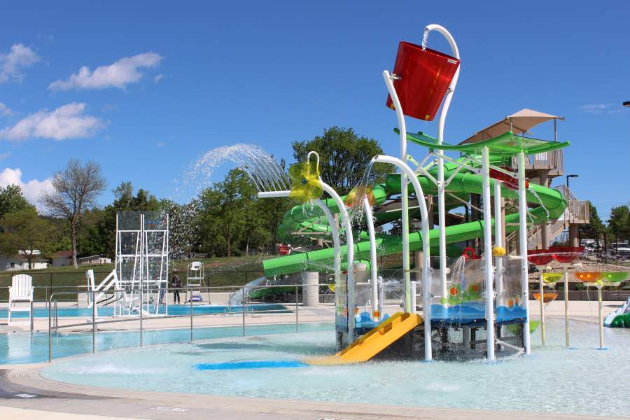 City pools open for the summer rapid city south dakota for Outdoor pools open