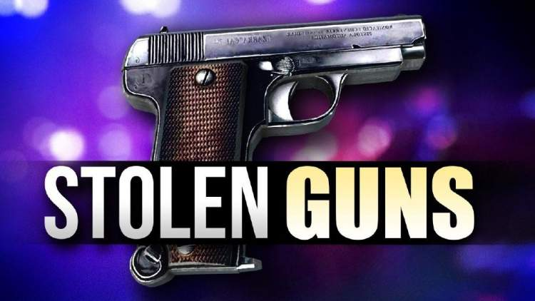 Rapid City residents urged to secure their firearms/valuables after recent vehicle burglaries