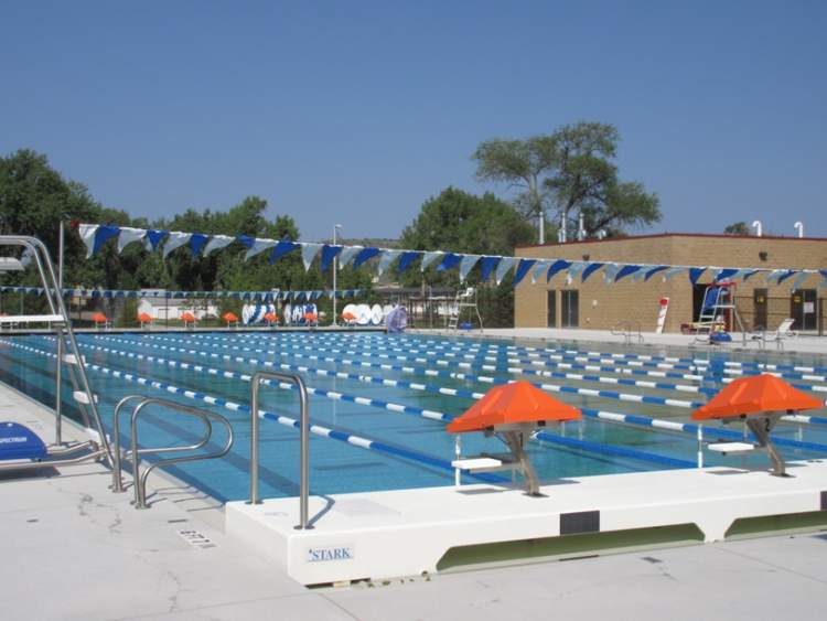 The Roosevelt Swim Center outdoor 50-meter pool was a Vision Fund community project.