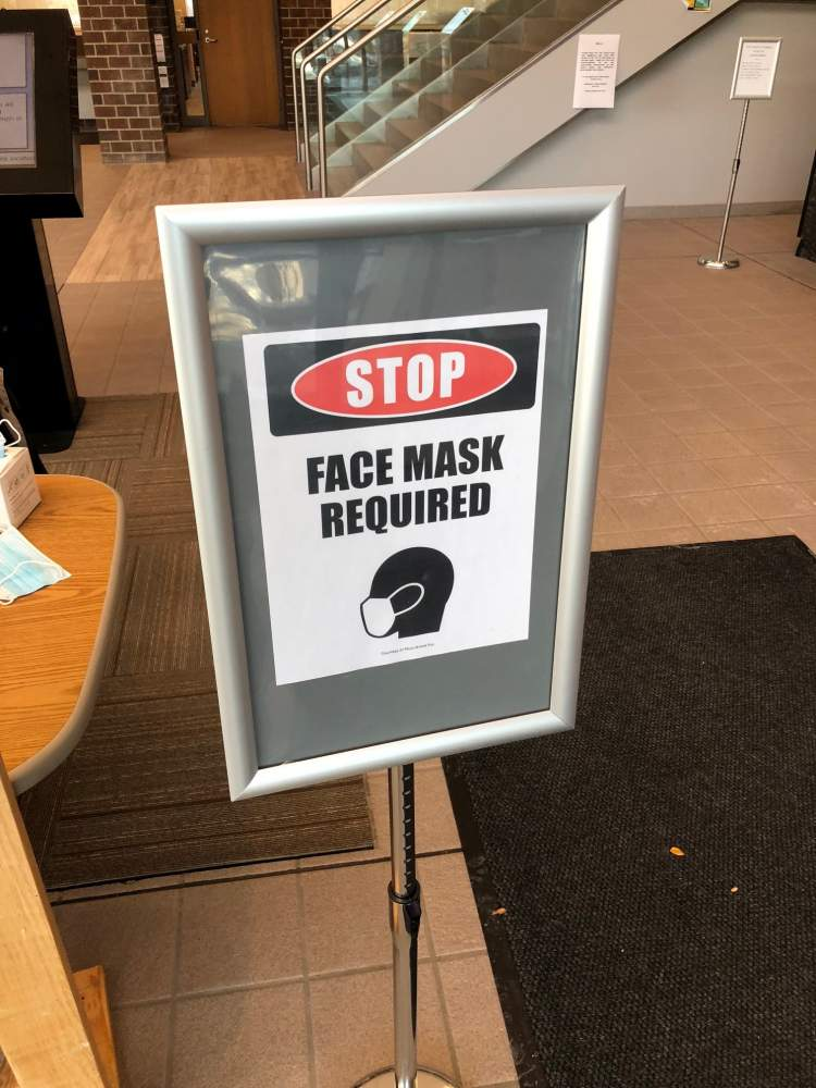 Face masks or covering are now required in City facilities.