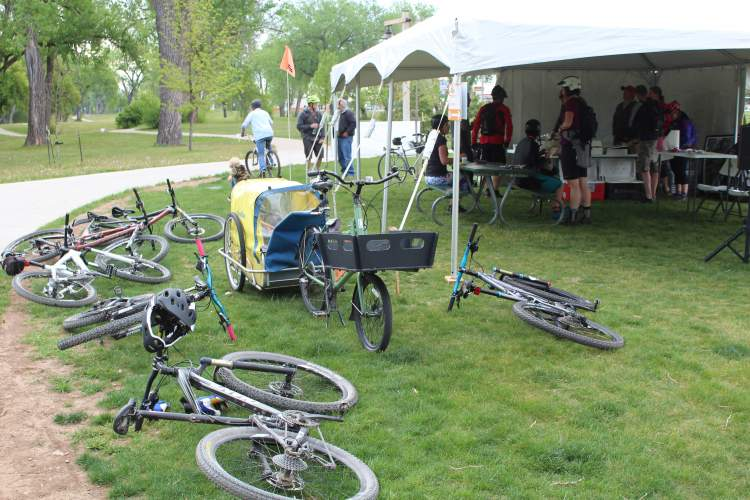 The City's Parks and Recreation Department is hosting National Bike Month events in May including Bike To School Day and Bike To Work Day which includes Bike4Bacon.