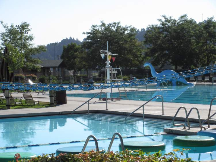 The Jimmy Hilton Pool at Sioux Park is just one of the many venues that will be attracting City residents and visitors this summer.