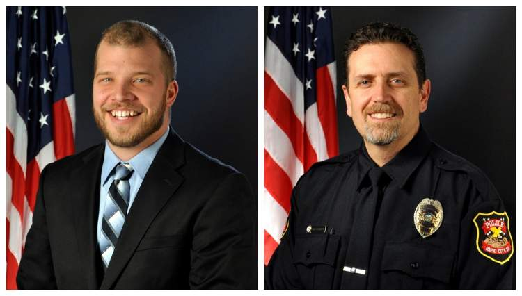 Sgt. Phil Koch (left) and Sgt. Chris Holbrook (right)