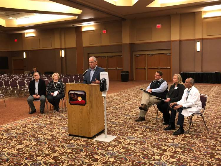City and Monument Health officials provided a briefing to media Wednesday with important information on precautionary measures being taken at City facilities and links for the public to stay updated on the Coronavirus through Monument Health.