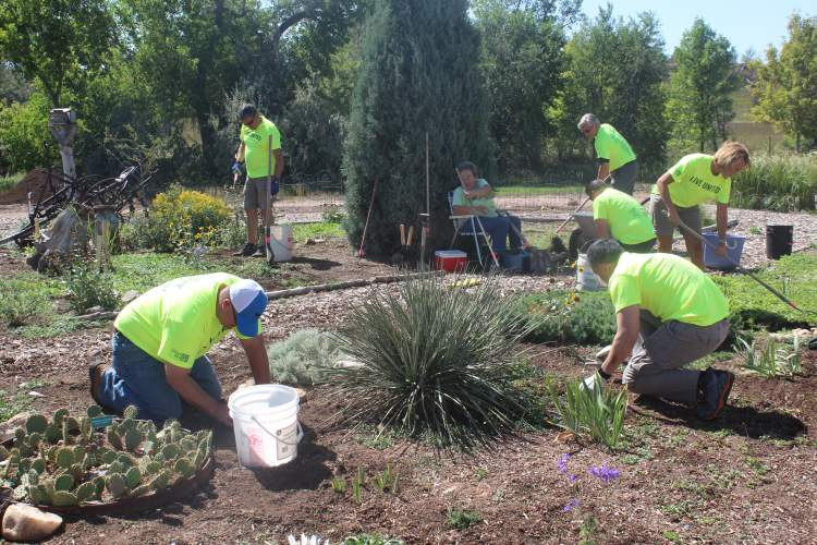 City Staff Participates in Day of Caring Activities