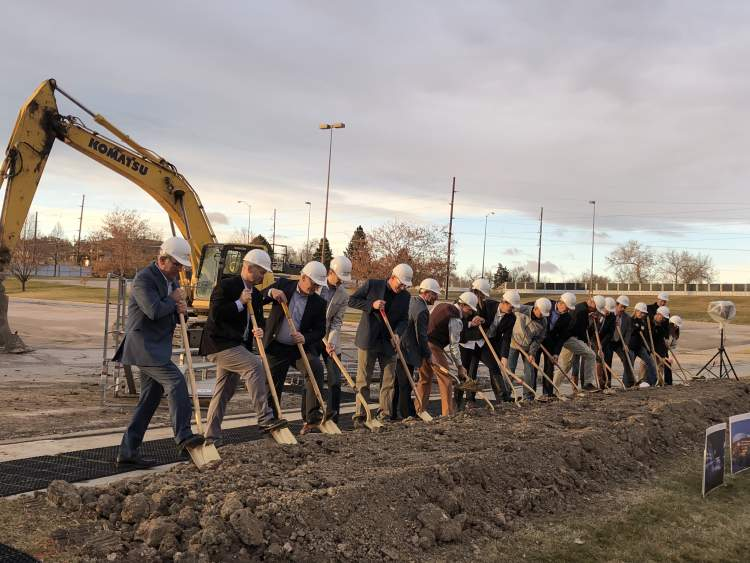 Officials Break Ground On New Civic Center Arena
