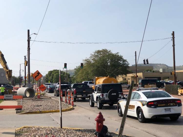 Significant Traffic Impact: East Boulevard & Main Street on Friday