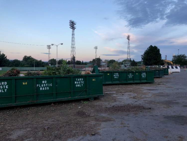 Remote Yard Waste Site Remains Open During Stadium Renovations