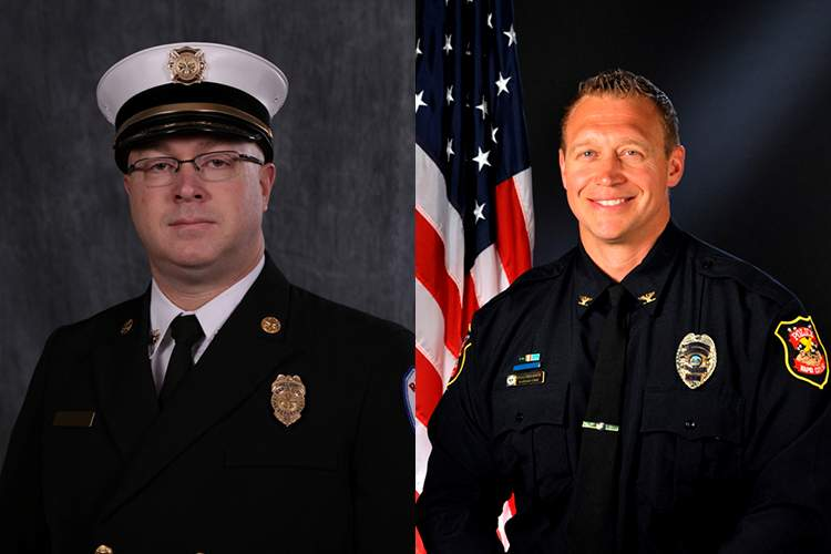 Jason Culberson and Don Hedrick have been confirmed as the City's new fire and police chiefs